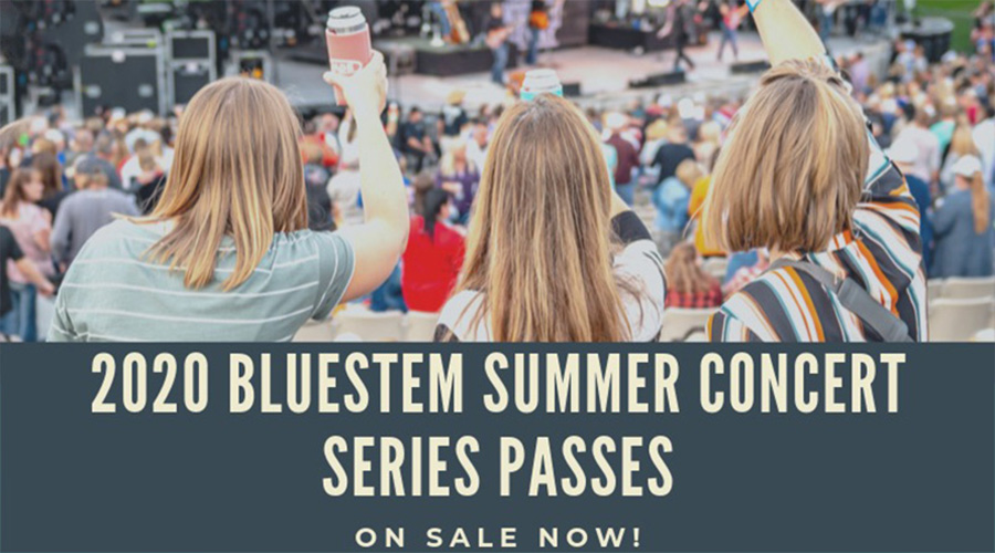 2020 Bluestem Summer Concert Series Passes Available