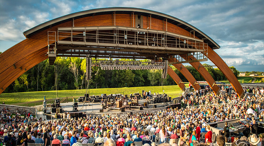 See How We Have Increased our Green Efforts at Bluestem Amphitheater