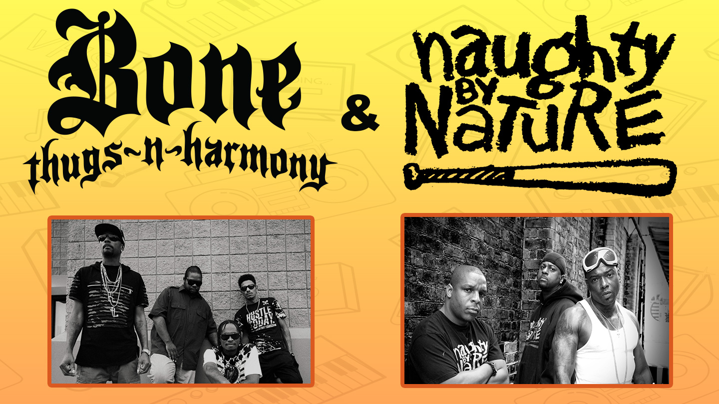 Summer Throwback featuring Bone Thugs-N-Harmony and Naughty